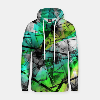 Breaking Boundaries - Futuristic Geometric Abstrct Art Hoodie thumbnail image