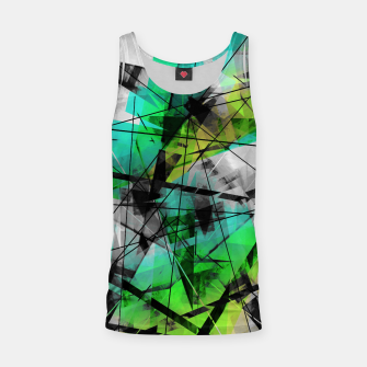 Breaking Boundaries - Futuristic Geometric Abstrct Art Tank Top thumbnail image