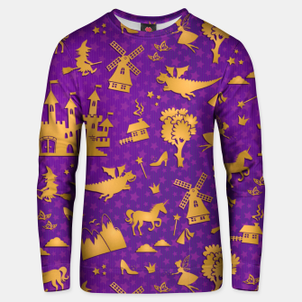 Thumbnail image of Violet Fairytale Unisex sweater, Live Heroes