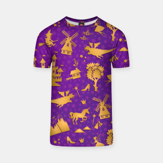 Thumbnail image of Violet Fairytale T-shirt, Live Heroes