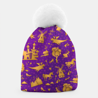 Thumbnail image of Violet Fairytale Beanie, Live Heroes