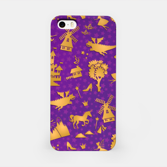 Thumbnail image of Violet Fairytale iPhone Case, Live Heroes