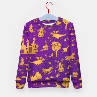 Thumbnail image of Violet Fairytale Kid's sweater, Live Heroes