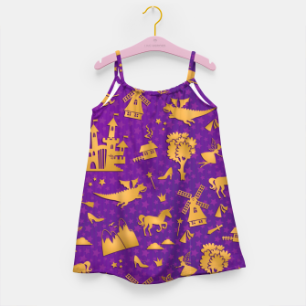 Thumbnail image of Violet Fairytale Girl's dress, Live Heroes
