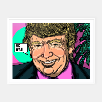 Thumbnail image of Donald Trump's Sunset Cartel con marco, Live Heroes