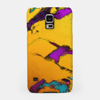 Thumbnail image of Yellow erosion Samsung Case, Live Heroes