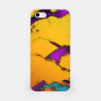 Thumbnail image of Yellow erosion iPhone Case, Live Heroes