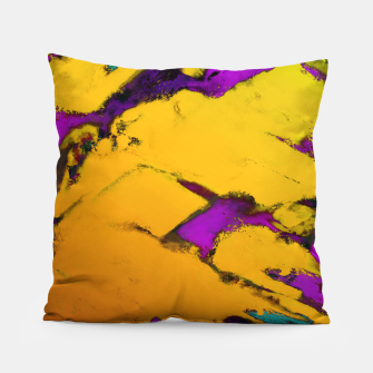 Thumbnail image of Yellow erosion Pillow, Live Heroes
