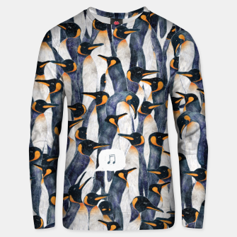 Singing Penguin Unisex sweater thumbnail image