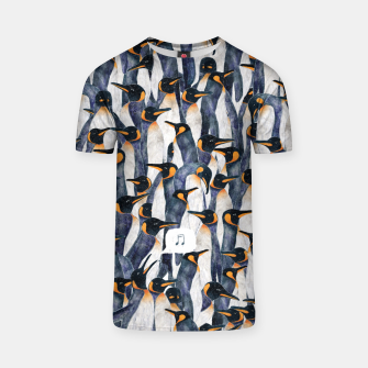 Thumbnail image of Singing Penguin T-shirt, Live Heroes
