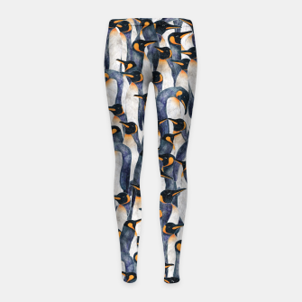 Singing Penguin Girl's leggings thumbnail image