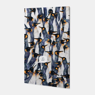 Singing Penguin Canvas thumbnail image