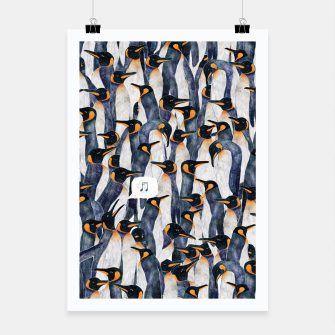 Thumbnail image of Singing Penguin Poster, Live Heroes