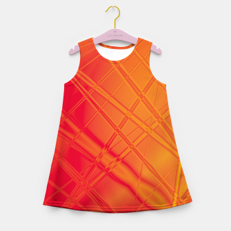 Thumbnail image of into the fire Girl's summer dress, Live Heroes