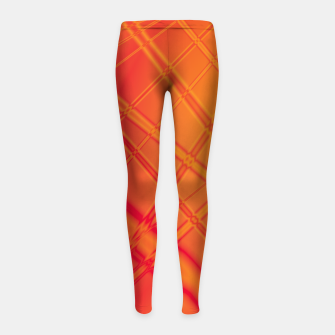 Thumbnail image of into the fire Girl's leggings, Live Heroes