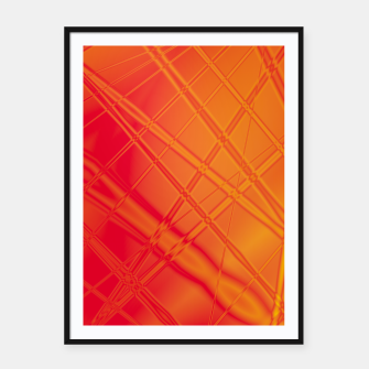 Thumbnail image of into the fire Framed poster, Live Heroes