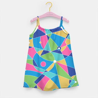 Thumbnail image of Abstract colours Girl's dress, Live Heroes