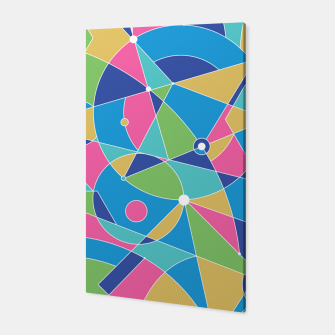 Thumbnail image of Abstract colours Canvas, Live Heroes