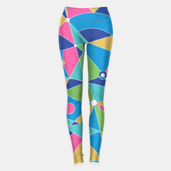 Thumbnail image of Abstract colours Leggings, Live Heroes