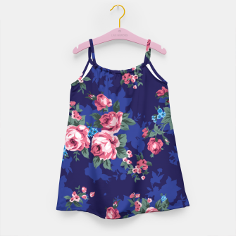 Thumbnail image of Vintage Pink Roses Girl's dress, Live Heroes