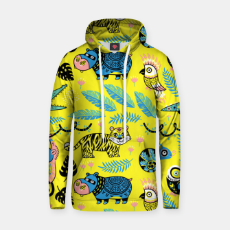 Thumbnail image of Exotic Animals Hoodie, Live Heroes