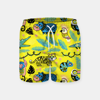Miniature de image de Exotic Animals Swim Shorts, Live Heroes