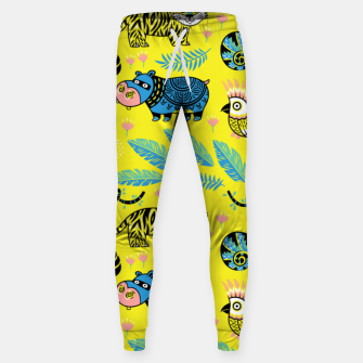 Miniature de image de Exotic Animals Sweatpants, Live Heroes