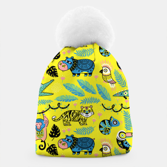 Miniatur Exotic Animals Beanie, Live Heroes