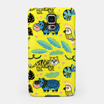 Miniatur Exotic Animals Samsung Case, Live Heroes
