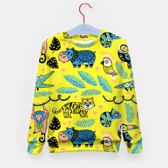 Miniature de image de Exotic Animals Kid's sweater, Live Heroes