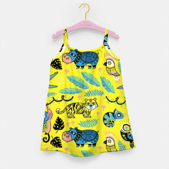 Miniature de image de Exotic Animals Girl's dress, Live Heroes