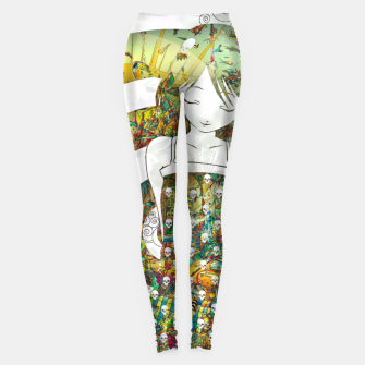 Miniaturka Thinking Girl Leggings, Live Heroes