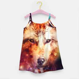 Thumbnail image of Abstract Wolf Girl's dress, Live Heroes