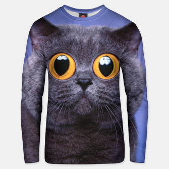 Thumbnail image of Humor Cat Unisex sweater, Live Heroes