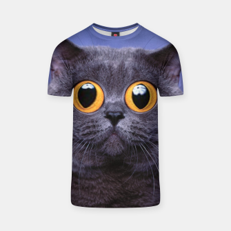 Thumbnail image of Humor Cat T-shirt, Live Heroes