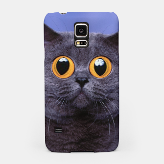 Thumbnail image of Humor Cat Samsung Case, Live Heroes