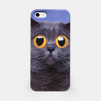 Thumbnail image of Humor Cat iPhone Case, Live Heroes