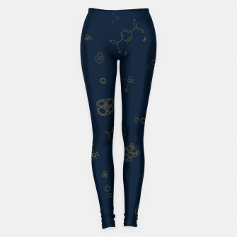 Thumbnail image of Cyanobacteria Science Leggings, Live Heroes