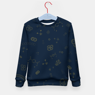 Thumbnail image of Cyanobacteria Science Kid's sweater, Live Heroes
