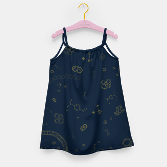 Thumbnail image of Cyanobacteria Science Girl's dress, Live Heroes