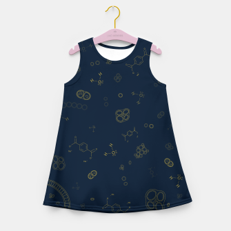 Thumbnail image of Cyanobacteria Science Girl's summer dress, Live Heroes