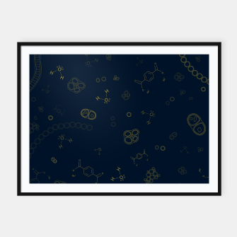 Thumbnail image of Cyanobacteria Science Framed poster, Live Heroes