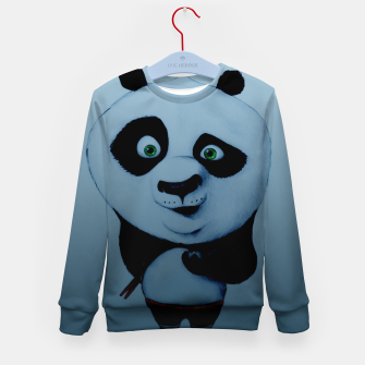 Thumbnail image of Confused Panda Kid's sweater, Live Heroes