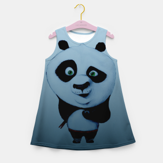 Thumbnail image of Confused Panda Girl's summer dress, Live Heroes