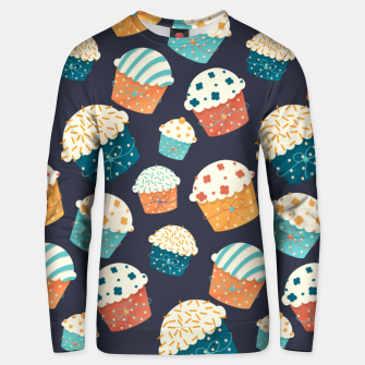 Thumbnail image of Cupcake Party Unisex sweater, Live Heroes