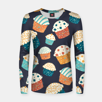 Thumbnail image of Cupcake Party Women sweater, Live Heroes
