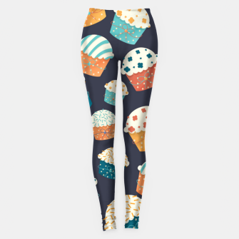 Thumbnail image of Cupcake Party Leggings, Live Heroes