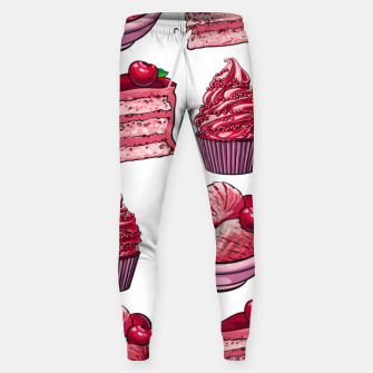 Thumbnail image of Dessert Pattern Sweatpants, Live Heroes
