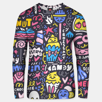 Thumbnail image of Dessert Universe Unisex sweater, Live Heroes