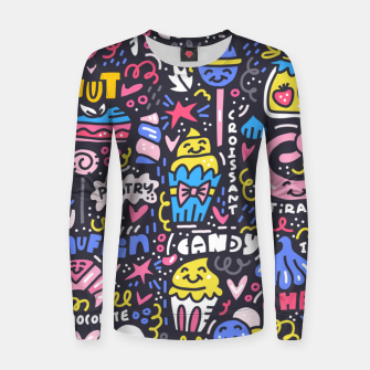 Thumbnail image of Dessert Universe Women sweater, Live Heroes